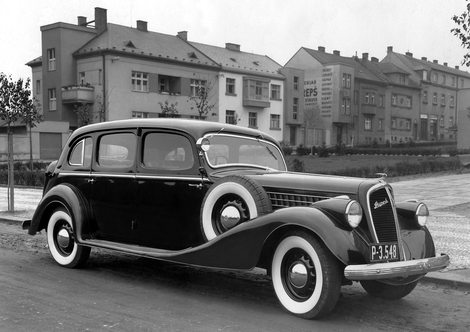 Skoda Superb type 913 1936(1934-1949) - старый Шкода Суперб