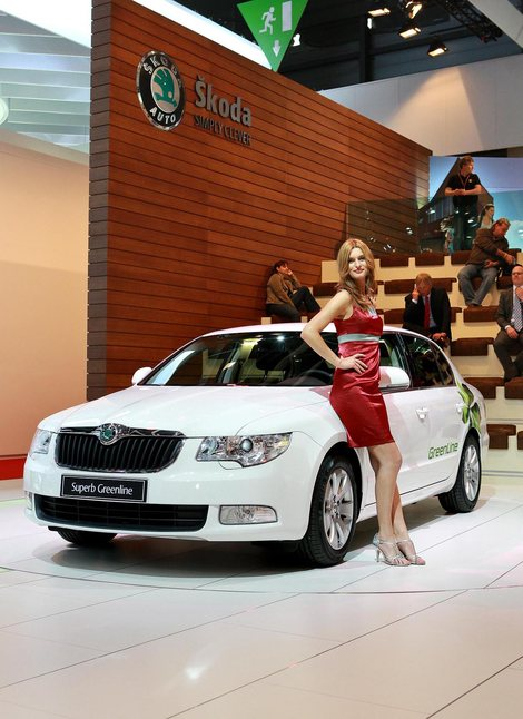 фото Skoda Superb GreenLine New 2009 2008 Шкода Суперб Гринлайн foto, photo